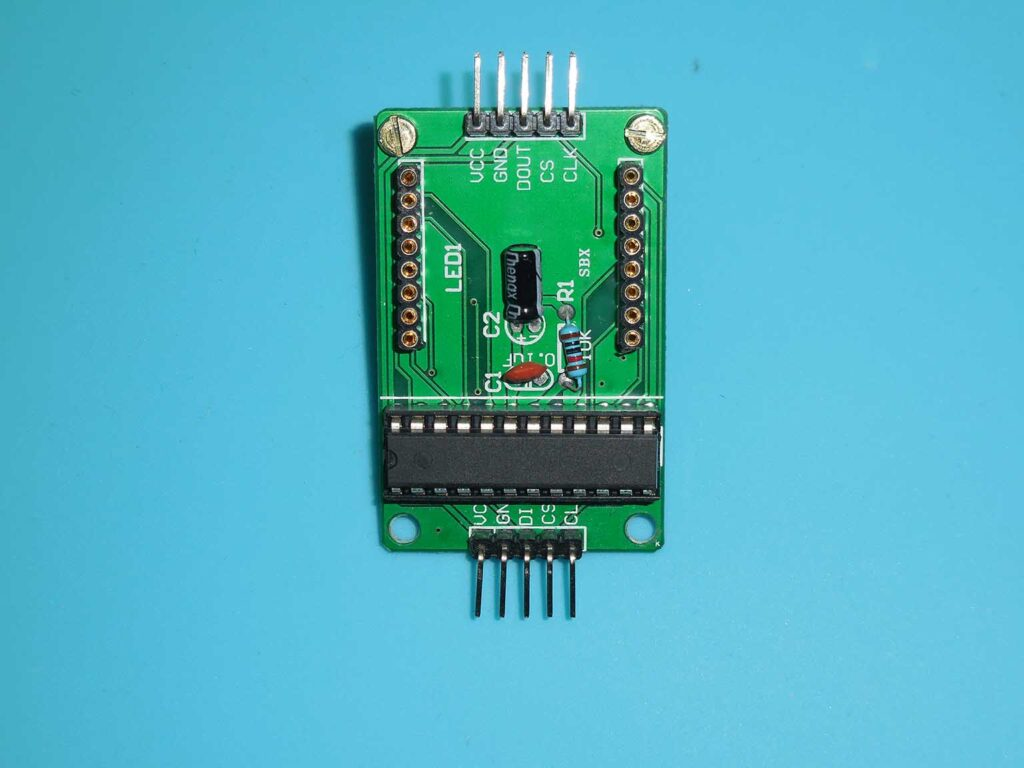 Figura 1: Módulo matriz de LEDs