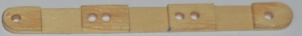 Figura 4: Travessa de sustentação dos módulos