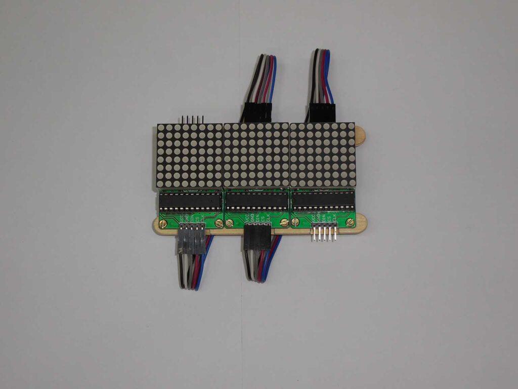 Figura 12: Interconexão dos módulos concluída