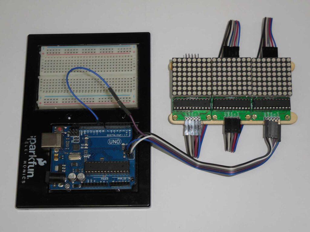 Figura 14: Conexão da faixa ao Arduino