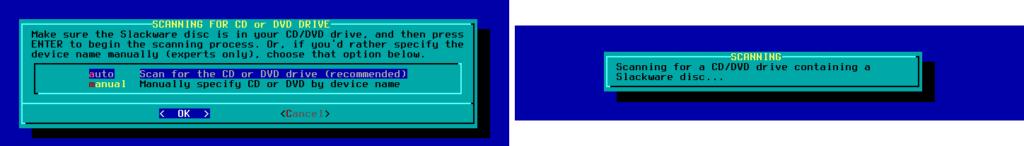 Figura 25: Varredura de mídias pela fonte de instalação
