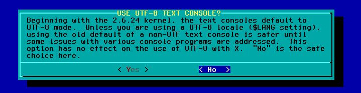 Figura 36: Configuração de encoding do sistema