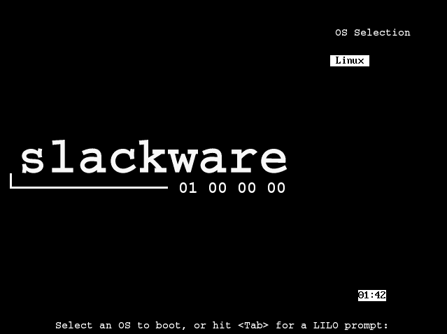 Figura 56: Primeiro boot pós instalação