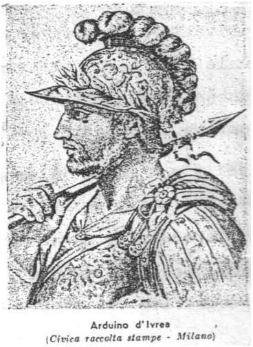 Gravura representando Arduino d'Ivrea
