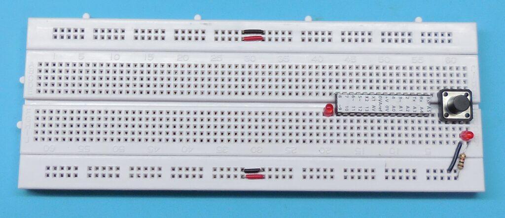 Ligações do LED Ligado